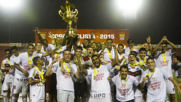 Linense, campeão, Copa Paulista (Foto: José Luis Silva / Ag. CA Linense)