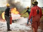 DF entra em emergência ambiental e capacita garis a prevenir incêndios