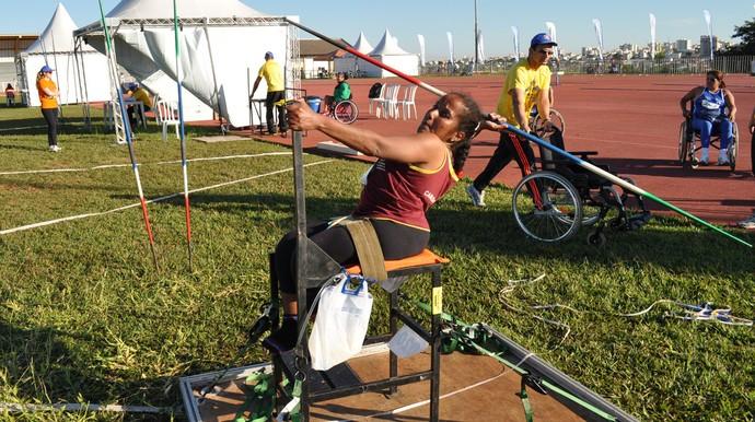 Equipe de atletismo paralímpico da ADD-MS (Foto: Edson Cavalli/ADD-MS)