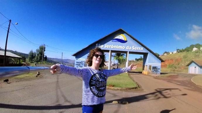 Veja as aventuras do Plug em São Jerônimo da Serra (Foto: Reprodução/RPC)