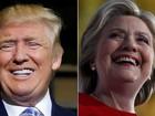 Hillary e Trump percorrem vários estados em último dia de campanha