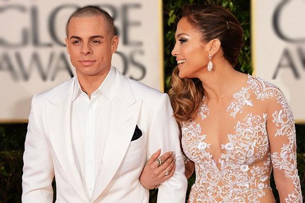 Jennifer Lopez e Casper Smart (Foto: Getty Images)