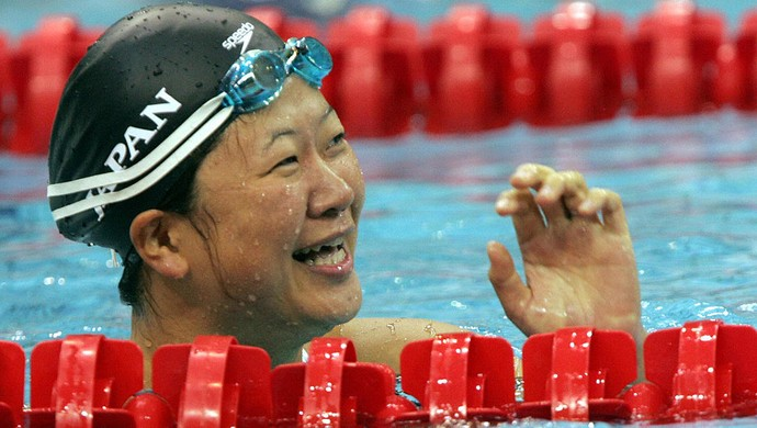 Mayumi Narita brilhou principalmente em 2004 (Foto: FAYEZ NURELDINE/AFP/Getty Images)
