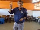 Candidato à prefeitura, Herzem Gusmão vota em Vitória da Conquista