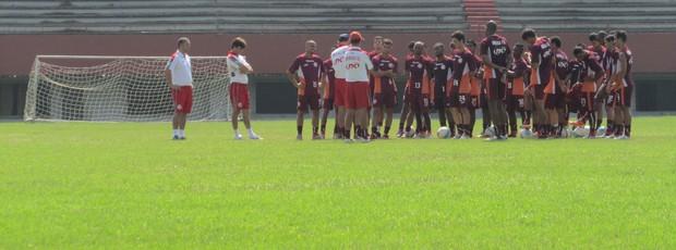 treino américa-rj (Foto: Jorge Natan)