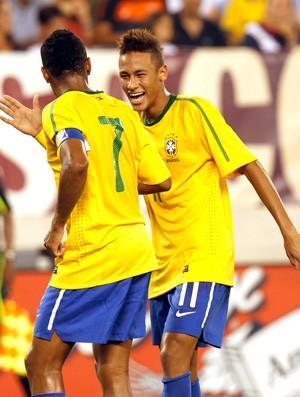 Neymar Brasil 2010 (Foto: Agência Reuters)
