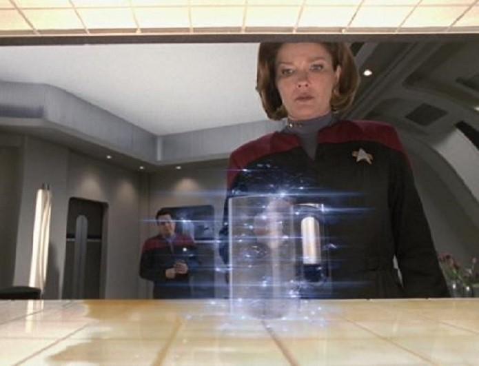 Replicador, do filme Jornada nas estrelas, é semelhante a uma impressora 3D (Foto:Reprodução/YouTube)