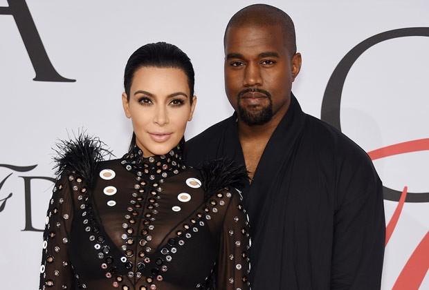Kanye West não economiza nas flores quando o assunto é mimar Kim Kardashian (Foto: Getty Images)