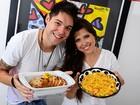 Ex-BBBs Andressa e Nasser festejam 2013: 'Nós nos encontramos'