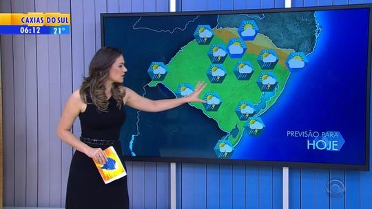 Calor provoca instabilidade nesta terça-feira no Rio Grande do Sul
