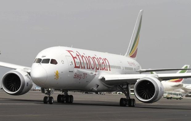 Aeroporto Etiopia : G etiópia faz primeiro voo do boeing após meses