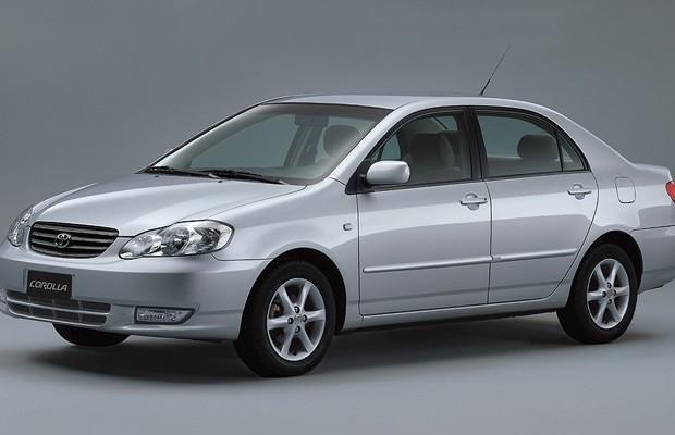 Toyota Corolla 2002 (Foto: Toyota)