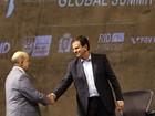 Paes e Dornelles discutem legado da Olimpíada em evento no Rio