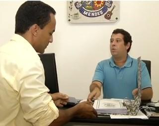 Série 'E aí Vereador?' foi até a câmara municipal de Mendes (Foto: RJTV 1ª Edição)