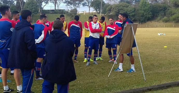 Bahia; treino; Porto Alegre (Foto: Divulgação/E.C. Bahia)