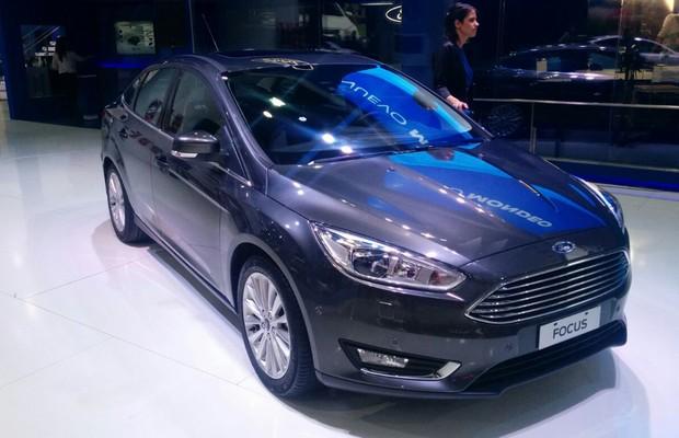 Ford Focus 2016 no Salão de Buenos Aires (Foto: Alexandre Izo / Autoesporte)