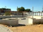 Obra do governo abandonada na Serra, ES, tem material furtado
