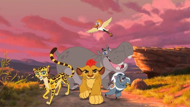Cena do telefilme 'The Lion Guard: Return of the Roar', telefilme que é continuação de 'O rei leão' e vai render um desenho animdo (Foto: Divulgação/Disney)