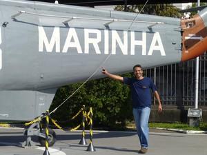 Alexandre Galante, especialista em aeronaves (Foto: Reprodução/Arquivo pessoal)