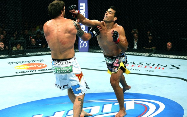 Lyoto Machida na luta do UFC contra Ryan Bader (Foto: Getty Images)