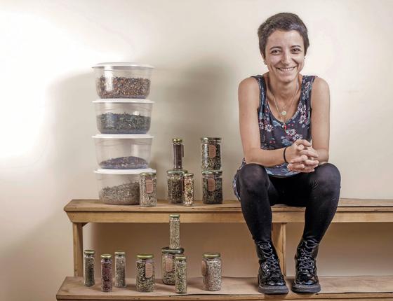 Beatriz Troncone,33 anos  (Foto:  Rogério Cassimiro/ÉPOCA)