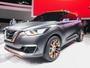 Nissan mostra o SUV Kicks, como carro-conceito, no Salão de SP