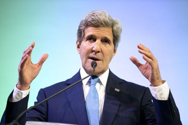 Secretário de Estado americano fez afirmação em Jacarta (Foto: Evan Vucci/AP)