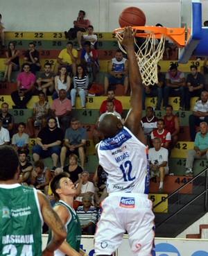 Bauru x Basquete Cearense Thiago Mathias (Foto: Henrique Costa / Bauru Basket)
