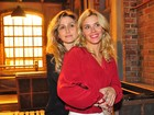 Carolina Dieckmann, Bruno Gagliasso e outros famosos vão à coletiva de imprensa de 'Joia rara'