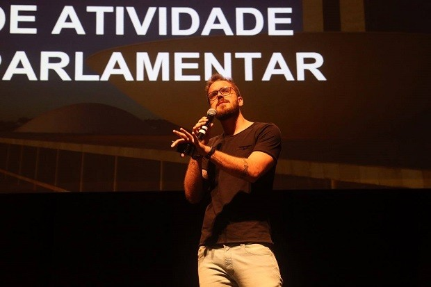 Pedro Vilanova no Wired Festival (Foto: Gianne Carvalho)