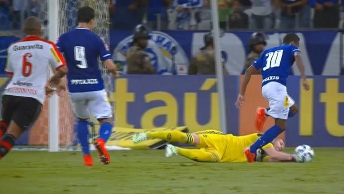 Paulo Victor Flamengo  (Foto: Reprodução SporTV)