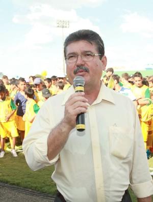 Edson Ermenegildo, presidente do Mirassol (Foto: Vinicius de Paula / Agência Mirassol FC)