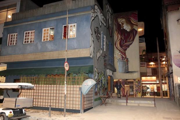 Cidade cenografica - Malhação (Foto: Isac Luz / EGO)