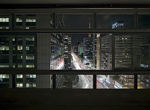 As luzes da Avenida Paulista, cartão-postal da cidade (Foto: Gui Morelli/Editora Globo)