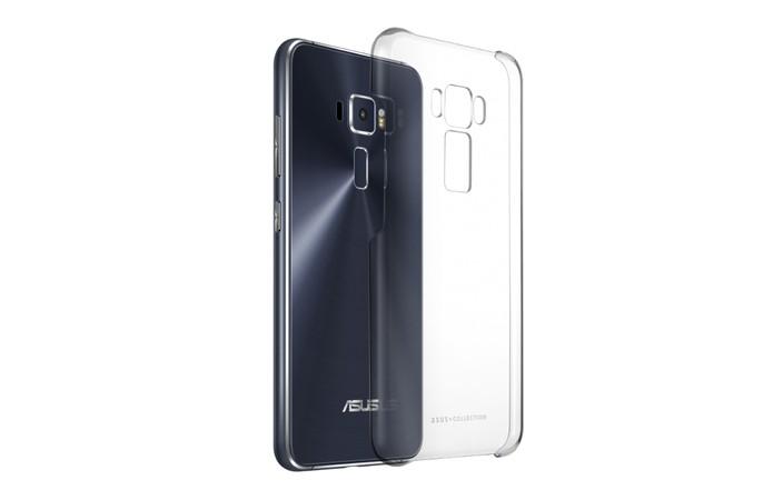 Capa oficial da Asus tem visual transparente e protege o celular de forma discreta (Foto: Divulgação/Asus)