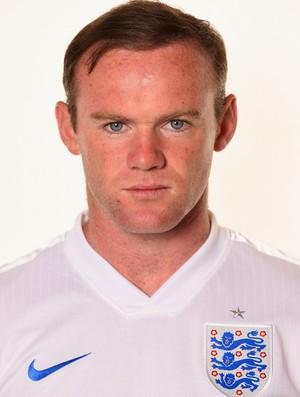 Wayne Rooney Inglaterra Crachá
