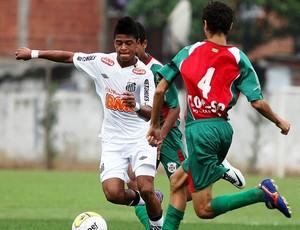 Diego Vitor é o artilheiro da garotada do Santos no Paulista Sub-15 (Foto: Pedro Ernesto Guerra Azevedo / Divulgação Santos FC)