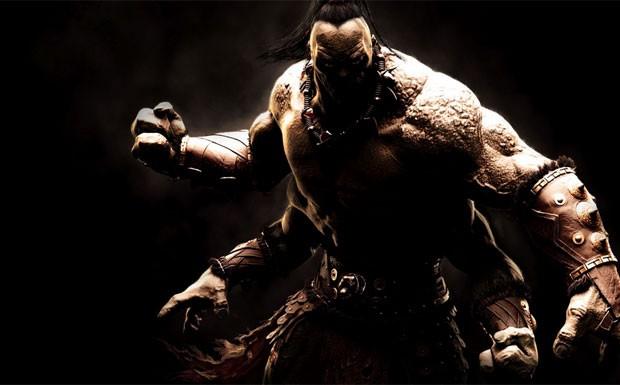 Goro, vilão clássico da série, está de volta em 'Mortal Kombat X' (Foto: Divulgação/Warner Bros.)