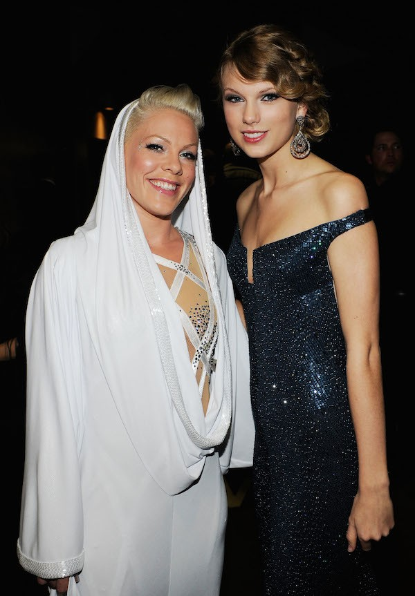 Pink e Taylor Swift (Foto: Getty Images)