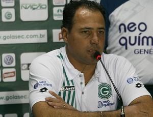 Márcio Goiano admitiu que time precisa ser reforçado (Foto: Rosiron Rodrigues/Goiás E.C.)