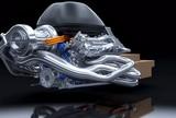 Motor Mercedes PU106A Hybrid 2014