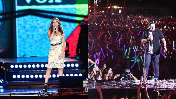 O Sintonize é apresentado por Fernanda Paes Leme e tem Luan Santana entre as atrações (Foto: Divulgação)