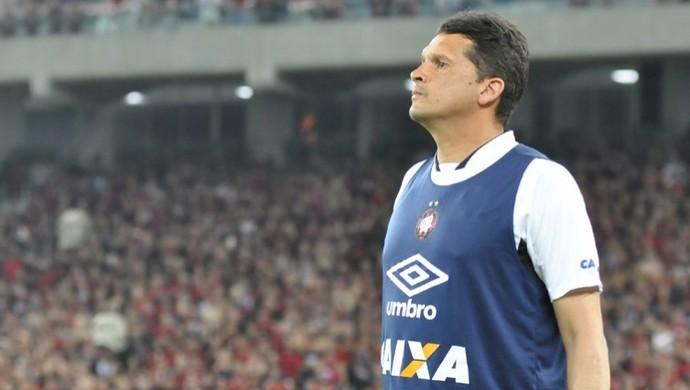 Claudinei Oliveira, técnico do Atlético-PR (Foto: Divulgação/ Site oficial  Atlético