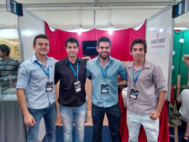 Estudantes do Sul de Minas apresentam projeto na Campus Party 2016 (Foto: Ascom Inatel)