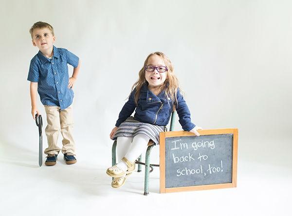 """Katie Driscoll fez uma parceria com mais de 100 empresas que se comprometeram a incluir crianças com deficiência em seus anúncios """"Back to school"""".  (Foto: Foto: Divulgação)"""