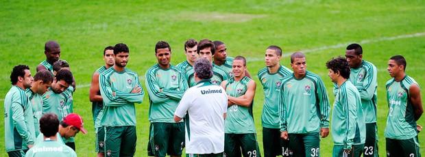 Treino Fluminense (Foto: Dhavid Normando / Photocamera)
