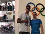 """Após visita à Vila, Medina fala sobre surfe na Olimpíada: """"É um sonho"""""""