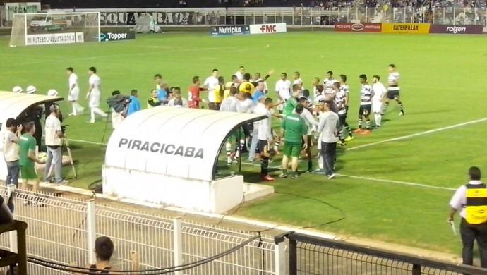 XV de Piracicaba x Santo André Copa Paulista (Foto: Leon Botão)