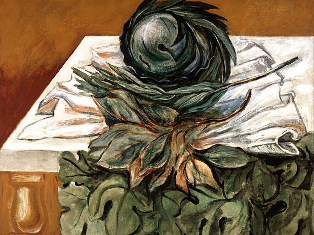 Quadro Las coles, de José Clemente Orozco, em exposição na mostra Horizontes da arte na América Latina e Caribe, no CCBB de Brasília (Foto: Museo Carrillo Gil/Instituto de Bellas Artes do México)