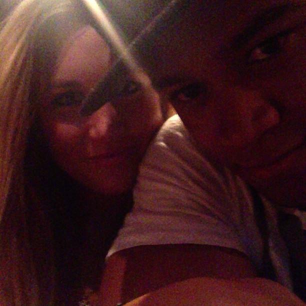 Leo Satana posta foto com a namorada americana, Chelsea Rae (Foto: Reprodução / Instagram)